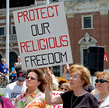 """Protejan nuestra libertad religiosa"""
