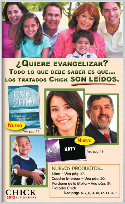 Catálogo Chick Publications 2013