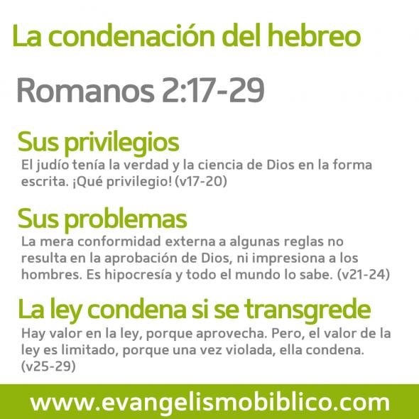 Romanos 2:17-29