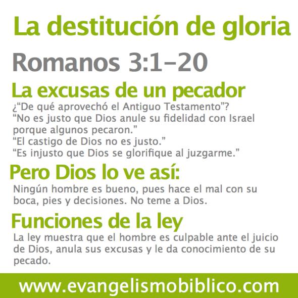 Romanos 3:1-20